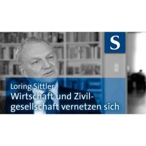 Loring Sittler: Wirtschaft und Zivilgesellschaft vernetzen sich