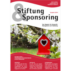 Stiftung & Sponsoring, Ausgabe 03/2014