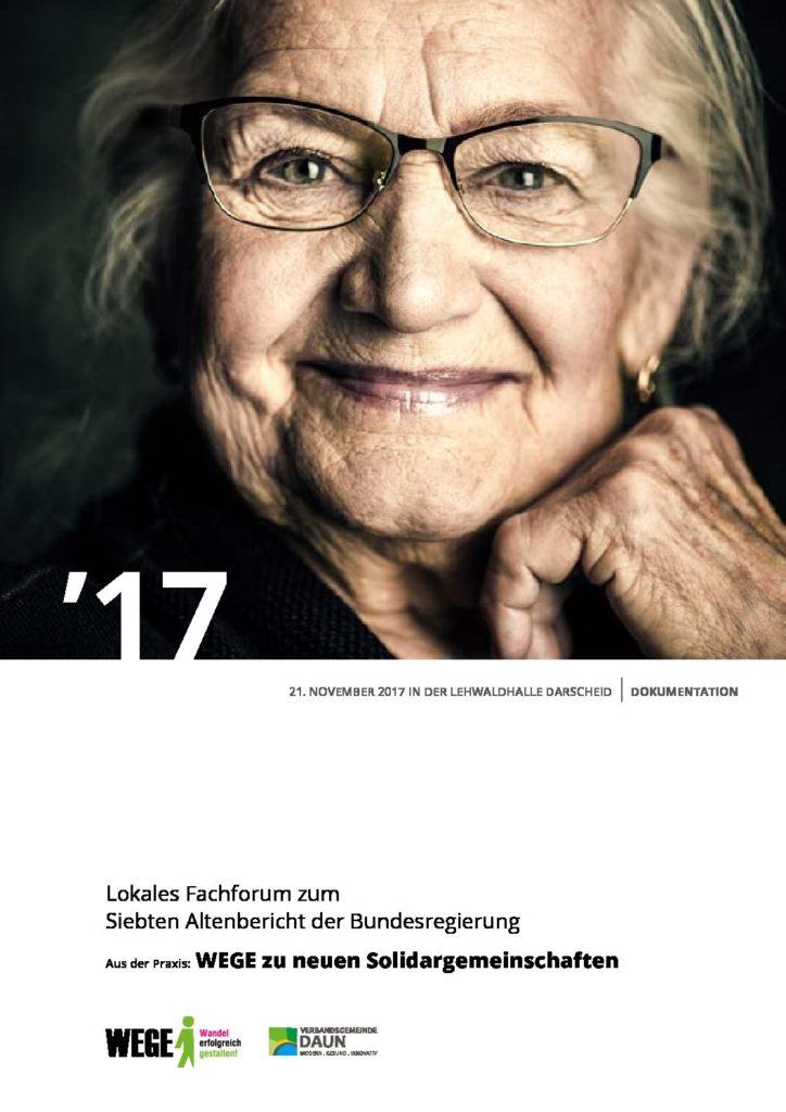 Daun Doku Lokales Fachforum 7. Altenbericht